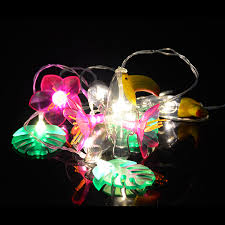 tropical string lights fizz creations
