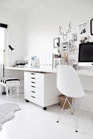 bureau et blanc le bureau noir et blanc de de stylizimo decocrush