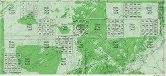 Arizona Elevation Map by Ranch Map Arizona Land For Sale