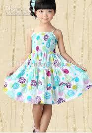 dress pattern 5 year old 2018 children girls suspenders flower pattern fold printed dress