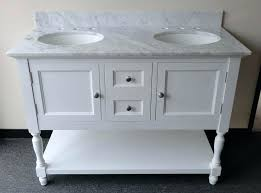 White Bathroom Vanity With Carrera Marble Top by 48 Inch Bathroom Vanity Without Top 48 Inch Bathroom Vanity With