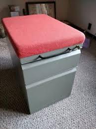 File Cabinet Seat Meridian File Cabinet Ebay