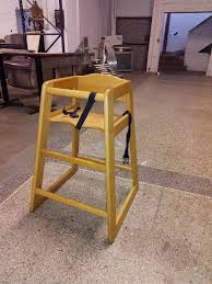 Wooden High Chair For Sale Wooden High Chair Warehouse Clearing Sale Cardboard Baler