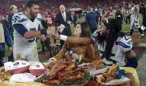 how the seahawks are spending thanksgiving