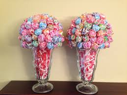 centerpieces with candy dum dum lollipop centerpiece