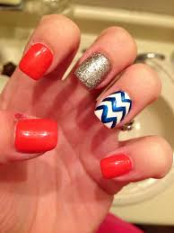 39 best auburn nail art images on pinterest orange nails orange