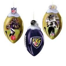 baltimore ravens nfl football set of 4 football shaped