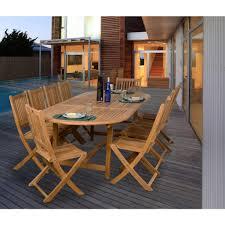 9 Piece Wicker Patio Dining Set - 11 piece aluminum outdoor dining set patio ideas