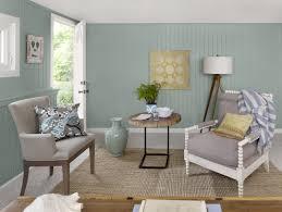 interior cool interior design ideas with green matte color wall