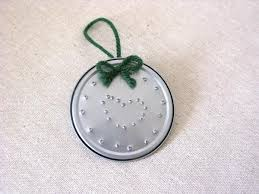 miss abigail s chest punched tin ornament