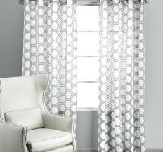 Patterned Blackout Curtains Black And White Patterned Curtains Gray And White Patterned
