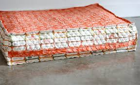 Homemade Dog Beds Diy Dog Bed That Will Recycle Your Bubble Wrap Cosmo Cricket