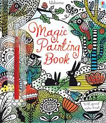 Magic Painting Book Erica Harrison Illustrator 9781409581888