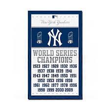 New York Yankees Home Decor Mlb Poster 24x36 Nyy Ny Champion Basketball Game New York Yankees