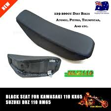 motorcycle dirt bike klx black seat for kawasaki klx110 kx65 pit
