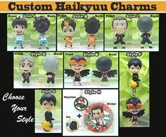Custom Charms Chibi One Piece Custom Charms Keychain Necklace Charm Only