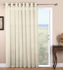 Sheer Door Curtains White Sliding Glass Door Curtain Shade Doors Door Curtains And