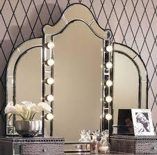 Vanity Table Ideas Vanity Table With Tri Fold Mirror U2013 Elegant Bedroom Furniture