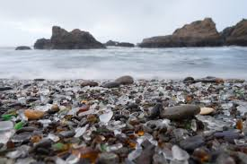 beach of glass beaches to find sea glass in oregon usa today