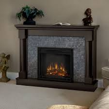 bedrooms recessed electric fireplace artificial fireplace black