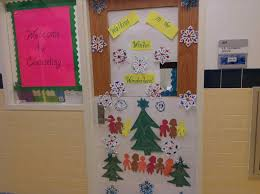 Winter Wonderland Decorations For Office Winter Door Decorating Contest Door Decorations Decorate Your For