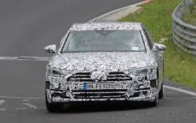 spied 2018 audi a8 tests at the nurburgring autoguide com news