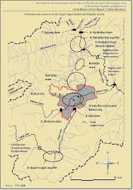 Kabul Map Mining And Water Sectors Afghanistan Resource Corridor
