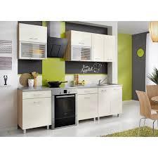 cuisine 2m cuisine complète 2m crème et décor chêne achat vente