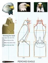 chainsaw carving patterns free preched eagle 3 3 https www