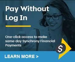 mysynchrony consumer financing synchrony bank