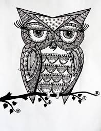 Owl Lovers by Doodle Owls To Coloring Pesquisa Do Google Coloring For Adults