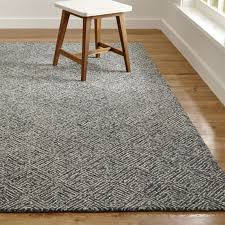 Brown And Blue Rug Curtis Indigo Blue Geometric Rug Crate And Barrel
