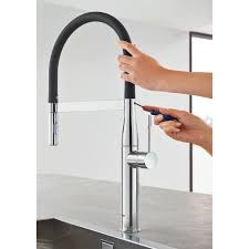 cleaning kitchen faucet grohe essence new kitchen faucet
