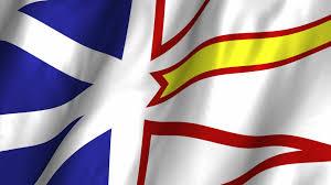 Flying Flag Stock Video Newfoundland U0026 Labrador Waving Flag 12316134