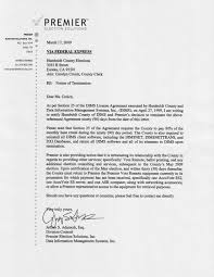 Terminate Employment Letter by Disclosed Diebold Premier U0027s Humboldt County Termination Letters