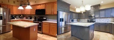 how to refinishing cabinets cabinet refinishing az tempe arizona kitchens