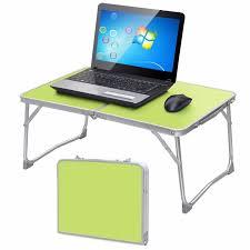 Laptop Computer Stand For Desk Notebook Computer Desk 360 Rolling Adjustable Picnic Folding