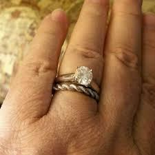 e wedding bands e wedding bands does anyone wear more than one wedding band with