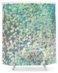 fantastic teal shower curtains and mermaid scales shower curtain