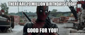 Superhero Birthday Meme - birthday