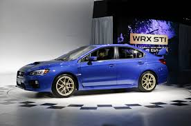 sti subaru 2016 2015 subaru wrx sti exterior profile 953 cars performance