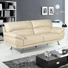 Regent Cream Leather Sofa Collection - Cream leather sofas