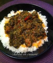 cuisine malienne le borokhé sauce arachide et épinard cuisine africaine