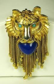 pauline rader necklace pauline rader jewelry pauline rader lion doorknocker vintage