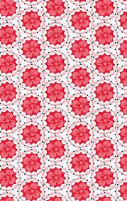 Wallpaper Patterns by Des Fleurs Et Des Murs Psychedelic Art Red Flowers And Art Patterns