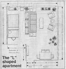 Furniture Sizes For Floor Plans Furniture Layout Floor Plans For A Small Apartment Living Room