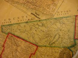 Bucks County Map Ancestor Tracks Philadelphia Area Resources