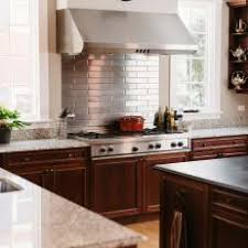Metallic Tile Backsplash by Photos Hgtv