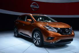 nissan murano new model new 2015 nissan murano pictured and filmed at the ny auto show