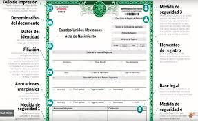 formato de acta de nacimiento en blanco gratis ensayos a un clic el acta de nacimiento